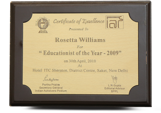 Rosetta Williams Award